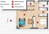 Penthaus-Appartement