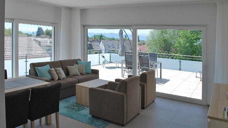 penthouse appartement. Black Bedroom Furniture Sets. Home Design Ideas